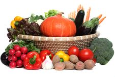 Free Assorted Vegetables Stock Photos - 14836973