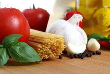Free Basic Italian Pasta Stock Image - 14837231