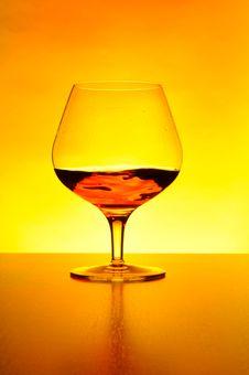 Free Glass Of Cognac Stock Image - 14837461