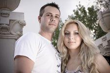 Free Young Couple Having Fun Stock Photo - 14838080