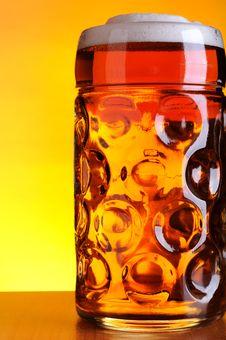 Free Mug Of Cold Beer Royalty Free Stock Photos - 14838108