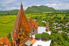 Buddhism Temple. Royalty Free Stock Photos