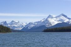 Free Maligne Lake Stock Image - 14838291