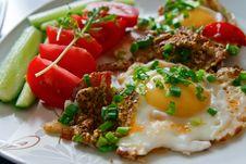 Free Tasty And Healthy Breakfast Royalty Free Stock Photo - 14838635