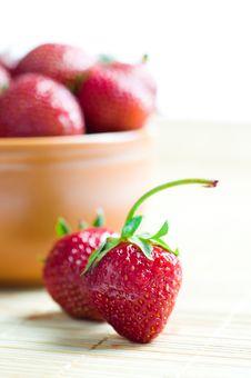 Free Ripe Strawberries Royalty Free Stock Photo - 14838855