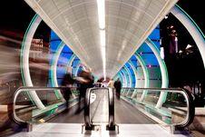 Bright Walkway Stock Photo