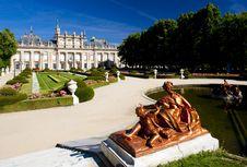 Free Palace Of La Granja De San Ildefonso Stock Photos - 14839373