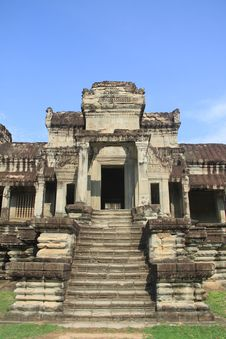 Free Angkor Wat Royalty Free Stock Photos - 14839488