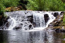 Sweet Creek Falls Stock Images