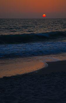 Free Sunset On Captive Island, Florida Royalty Free Stock Photo - 14839955