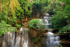 Free Waterfall In Deep Forest Of Thailand Royalty Free Stock Image - 14840326