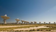 Free Very Large Array, New Mexico Stock Image - 14840611