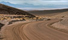 Free Curve In The Desert Royalty Free Stock Image - 14840686