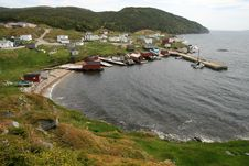 Free Rural Fishing Village Royalty Free Stock Photo - 14840995