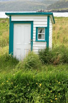 Free Outhouse Royalty Free Stock Photo - 14841075