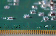 Free Electronic Microcircuit Board Stock Photo - 14841400