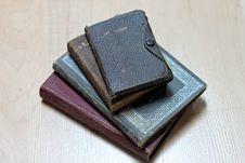 Free Dusty Worn Books Stock Image - 14841721