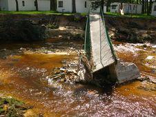 Free Damage Due To Flooding Royalty Free Stock Image - 14842126