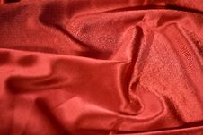 Free Elegant And Soft Red Satin Royalty Free Stock Photo - 14842265