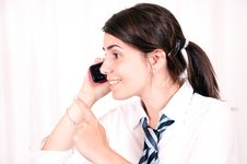 Free Female Office Worker Stock Images - 14842674