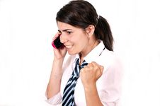 Free Female Office Worker Royalty Free Stock Images - 14842879