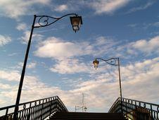 Free Italian Bridge Welcomes You Royalty Free Stock Photos - 14843158