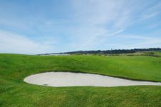Free Golf Course Links Stock Photography - 14843452