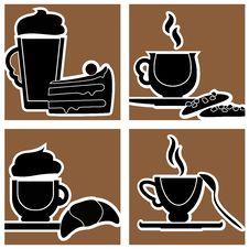 Free Coffee Design Stock Image - 14843841