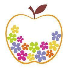 Vector Apple Design Royalty Free Stock Photos