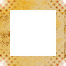Free Vintage Photo Frame With Classy Patterns Royalty Free Stock Photos - 14845258