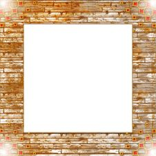 Free Vintage Photo Frame With Classy Patterns Royalty Free Stock Image - 14845266