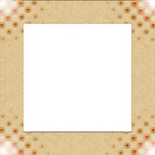 Free Vintage Photo Frame With Classy Patterns Royalty Free Stock Photo - 14845295