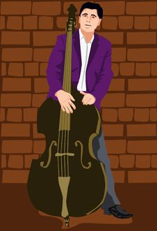 The Cello Artist Royalty Free Stock Photography
