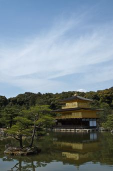 Kyoto Golden Pavilion Royalty Free Stock Images