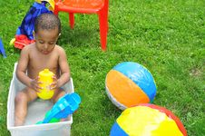 Free Playtime With Water Stock Photos - 14846203