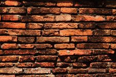 Free Ancient Bricks Wall Stock Photography - 14846332