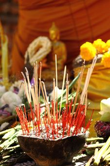 Free Joss Sticks Stock Image - 14846351