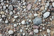 Free Gravel. Stock Images - 14846534