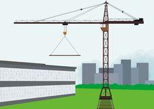 Free Tower Crane Stock Image - 14846801