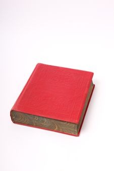 Free Red Book. Stock Photography - 14846942