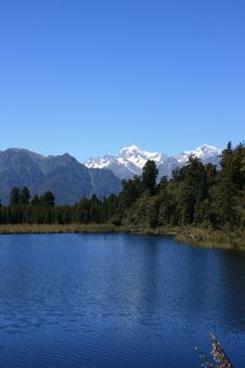 Free Lake Matheson / Mount Cook Royalty Free Stock Images - 14847609