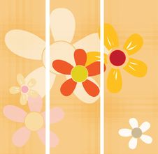 Free Floral Banner Stock Image - 14847711