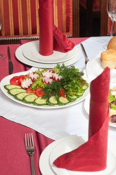 Free Vegetable Salad. Royalty Free Stock Photography - 14848167