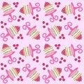 Free Cake Pattern Seamless Stock Photo - 14853410