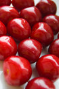 Free Ripen Red Cherries Royalty Free Stock Photo - 14854235