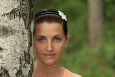 Free Female Portrait Royalty Free Stock Photography - 14850267