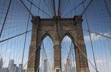 Free Brooklyn Bridge Stock Image - 14850781
