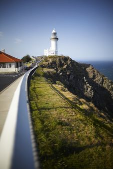 Free Lighthouse On A Sunny Day Royalty Free Stock Photo - 14850965