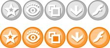 Free Badges. Royalty Free Stock Image - 14851116
