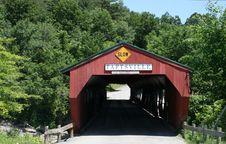 Free Taftsville Bridge Royalty Free Stock Photos - 14851578